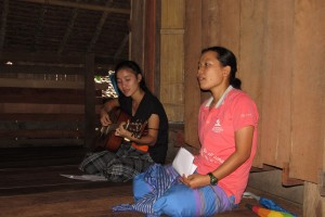 singing some songs