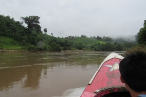 Here we go down the river